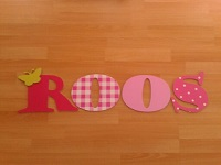 houten letters ROOS