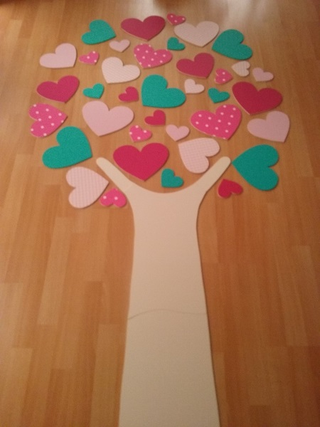 hartjesboom roze sheherazade